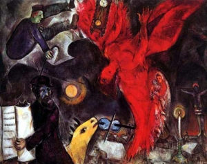 Marc Chagall – The angel's fall, 1923-1933-1947